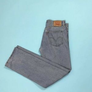 Levi's 505 Jeans W32 L34 Regular Fit Straight Leg